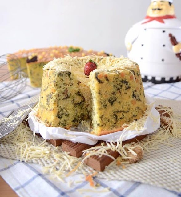 Resep Dan Cara Membuat Spinach Chiz Cake Ala Rumahan
