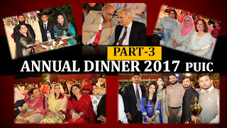 Annual Dinner 2017 Part 3, Institute of Chemistry, University of the Punjab, Lahore