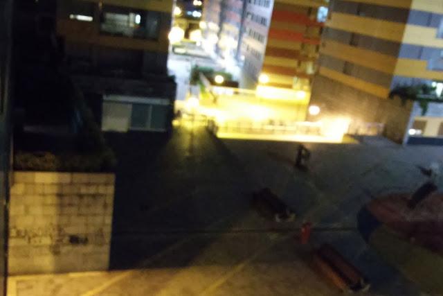 Problema de iluminación en la plaza de Beurko Berria
