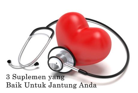 Suplemen Kesehatan Jantung yang Baik