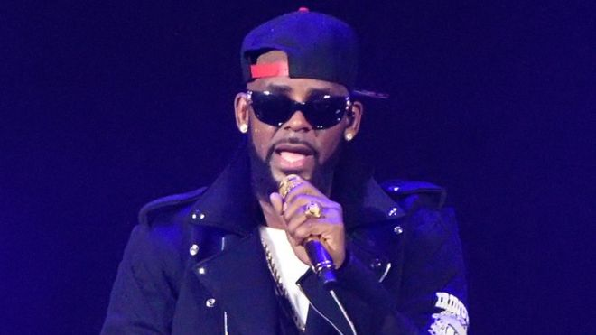 R Kelly gives defiant performance amid protests in North Carolina