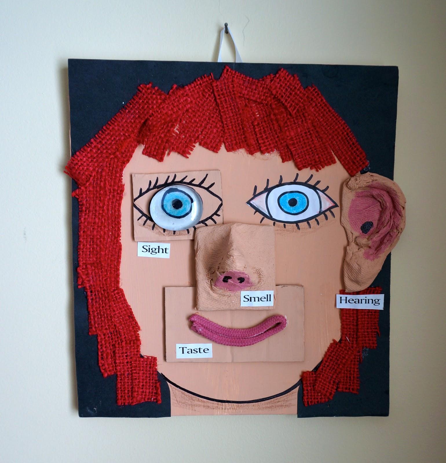 That Artist Woman Mixed Media Face