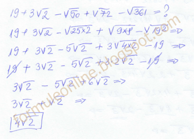 operations with radicals example