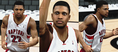 NBA 2K13 Rudy Gay Cyberface Mods
