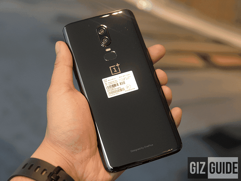 The OnePlus 6 has a powerful dual camera setup