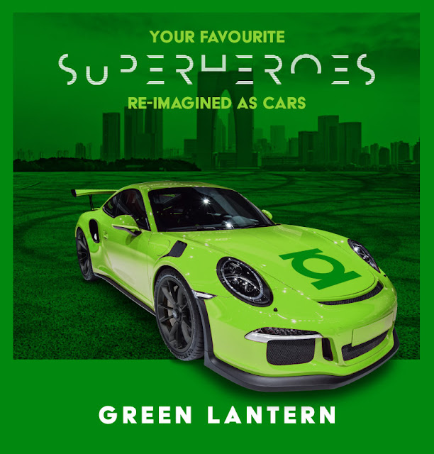 Green Lantern - Porsche 911 GT3