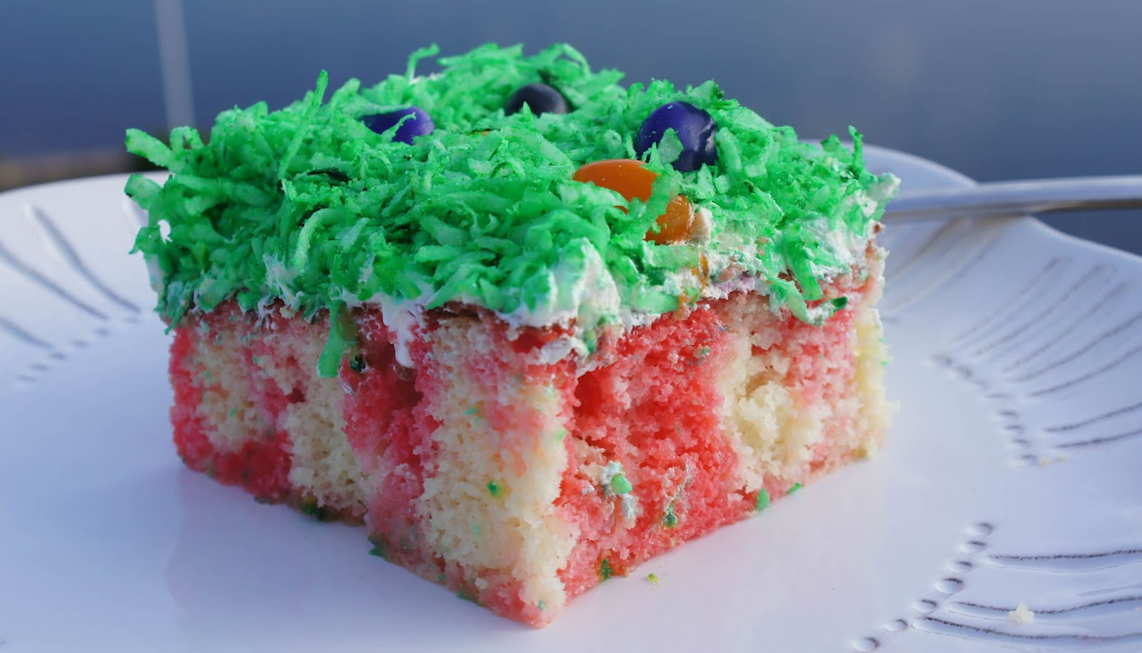 Cake Recipe Jelly Beans: Little Bit Of Everything: Jelly Bean Poke Cake
