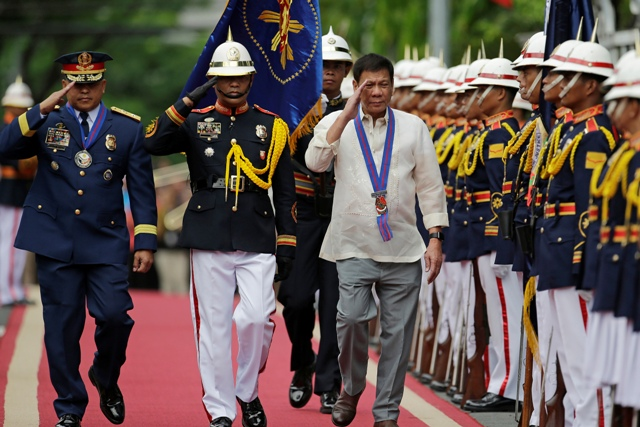 PRESIDENT DUTERTE TO PNP: DO YOUR DUTY, I WILL DIE FOR YOU