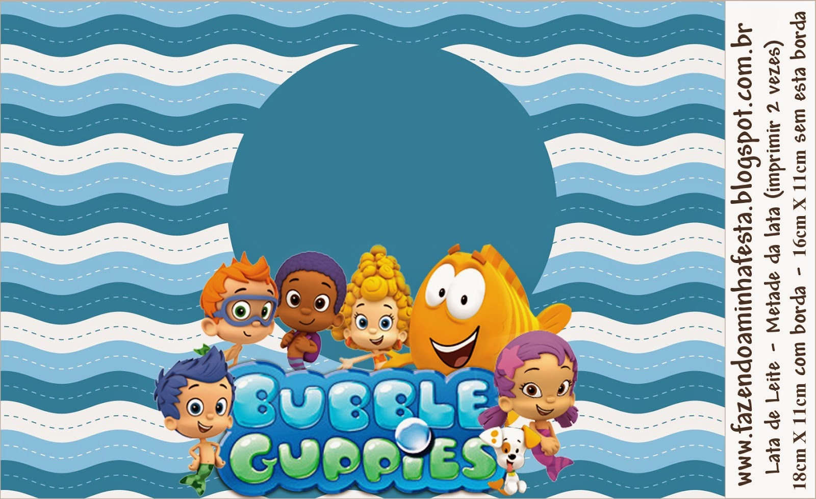Bubble Guppies Free Printable Candy Bar Labels. - Oh My ...