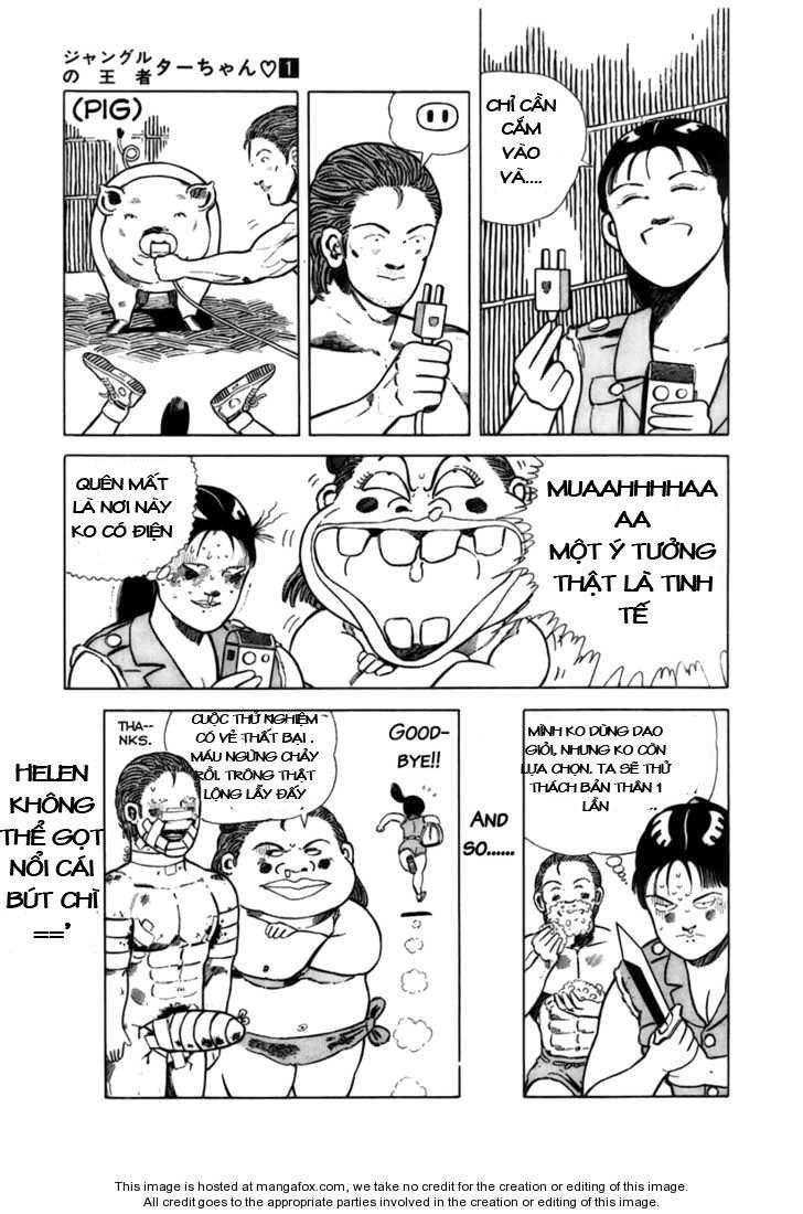 Chúa rừng Ta-chan chapter 14 trang 7
