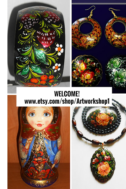 ussian Souvenirs and jewelry in handmade https://www.etsy.com/shop/Artworkshop1