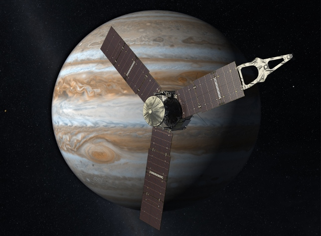 Solar-powered spacecraft successfully enters Jupiter orbit