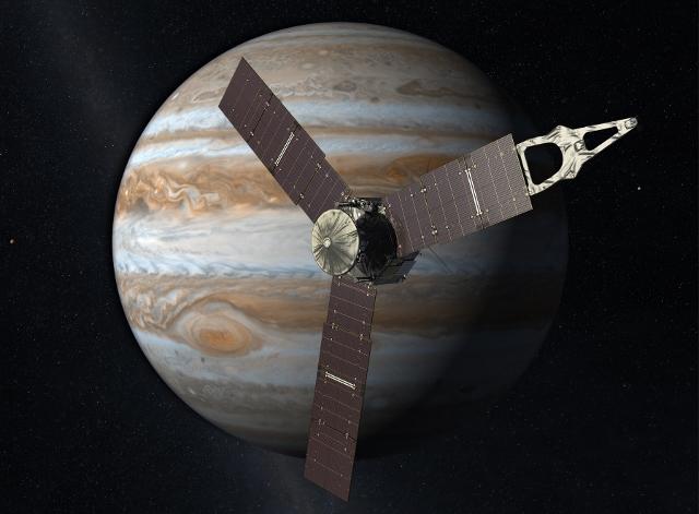 Juno Spacecraft Arrives to Jupiter