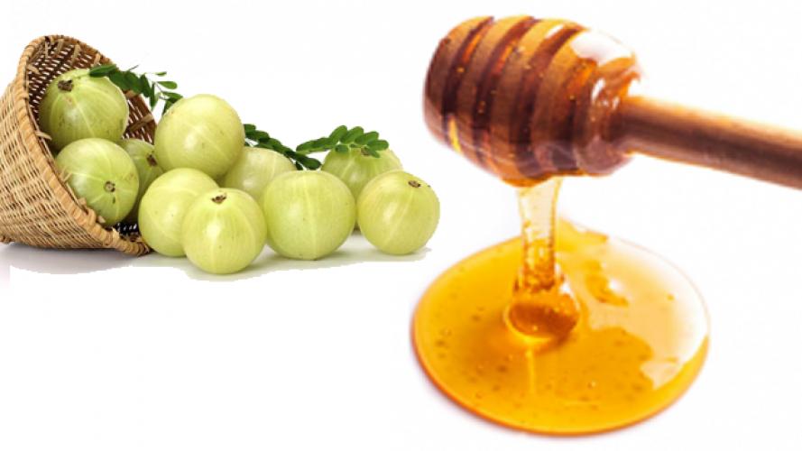 Image result for शहद और आंवले का रस