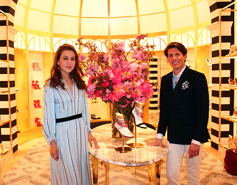edgardo osorio interview new york aquazzura flagship store