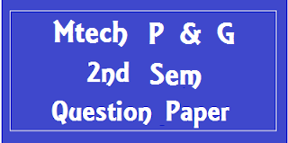 MTech 2nd Sem (Print & Graphic) Previous Papers Mdu