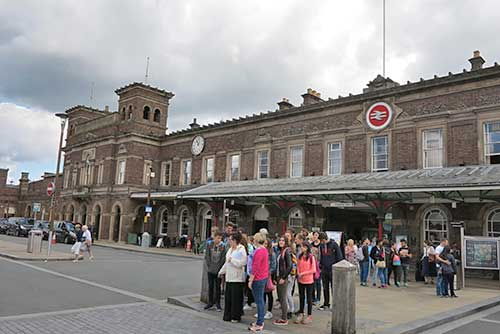 Chester Station, Chester, UK.