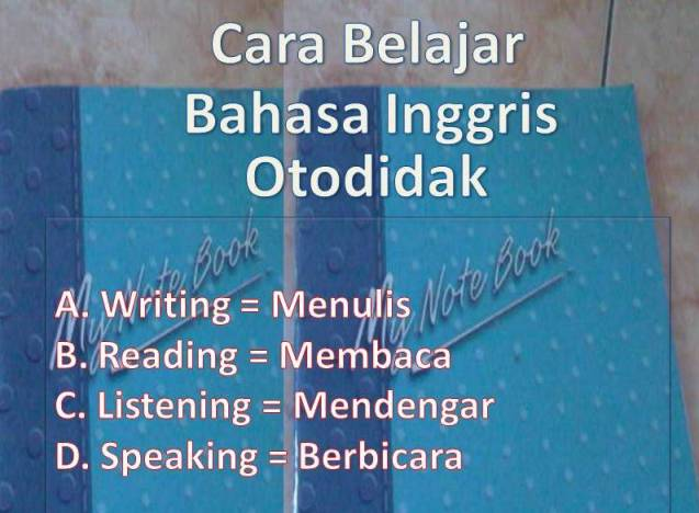 Cara Cra Menulis Narasi Bahasa Inggris Ygyeadt Pixnet Cara Belajar Bahasa Inggris Otodidak Cara Belajar Bahasa Inggris