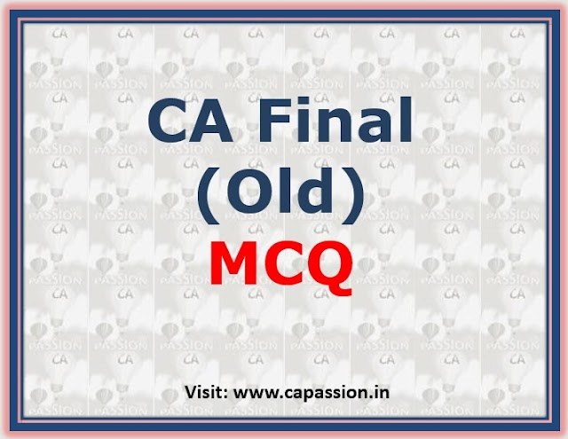 Online MCQ Series as per recent change of Exam Pattern by ICAI from May 19 onwards