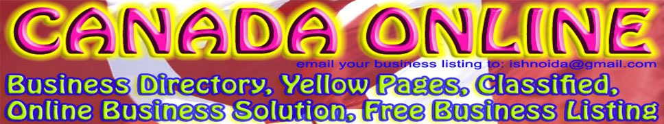 CANADA YELLOW PAGES AND BUSINESS DIRECTORY, CANADA ONLINE