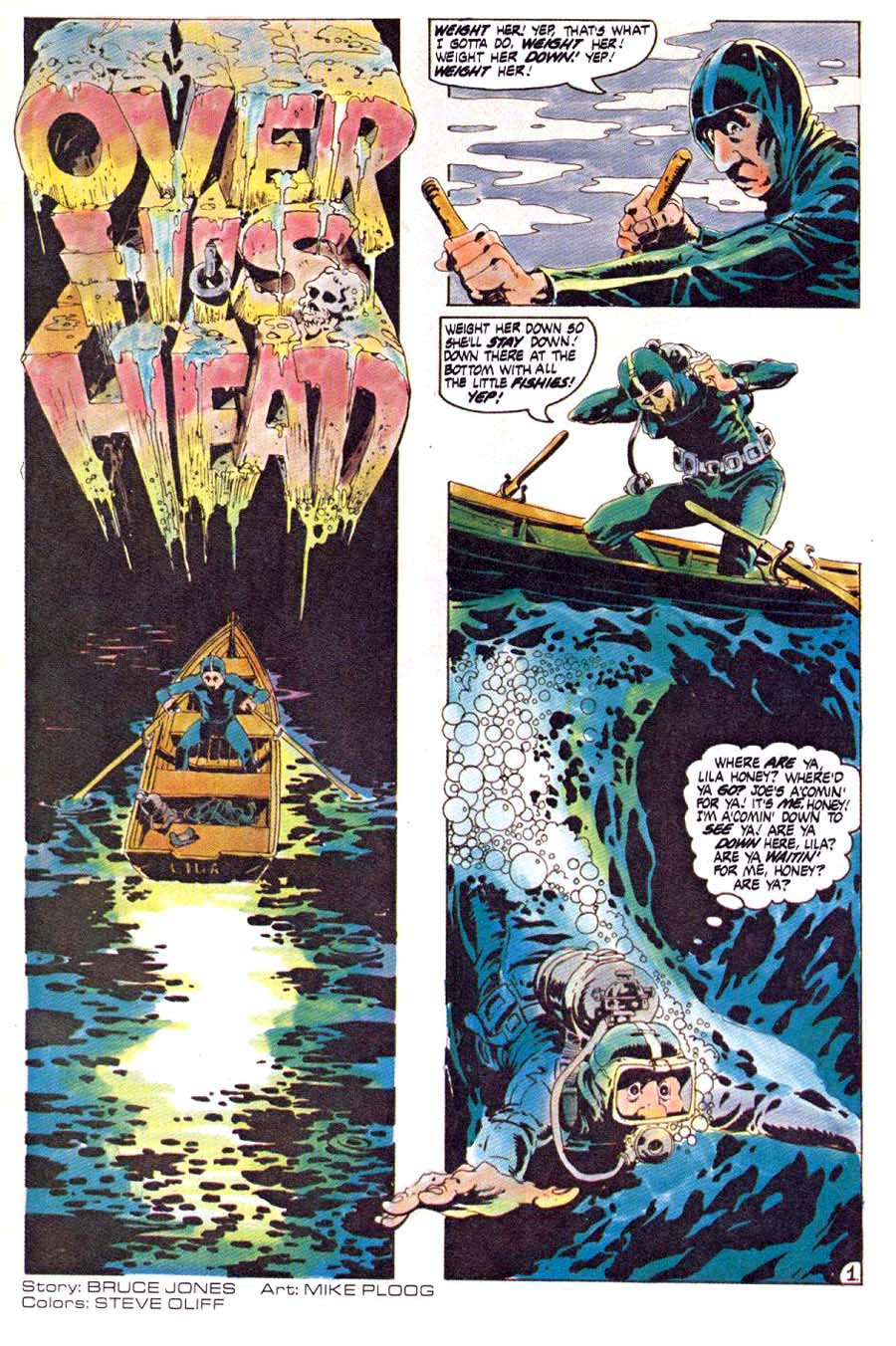 Twisted Tales v1 #2 - Mike Ploog 1980s horror comic book page art
