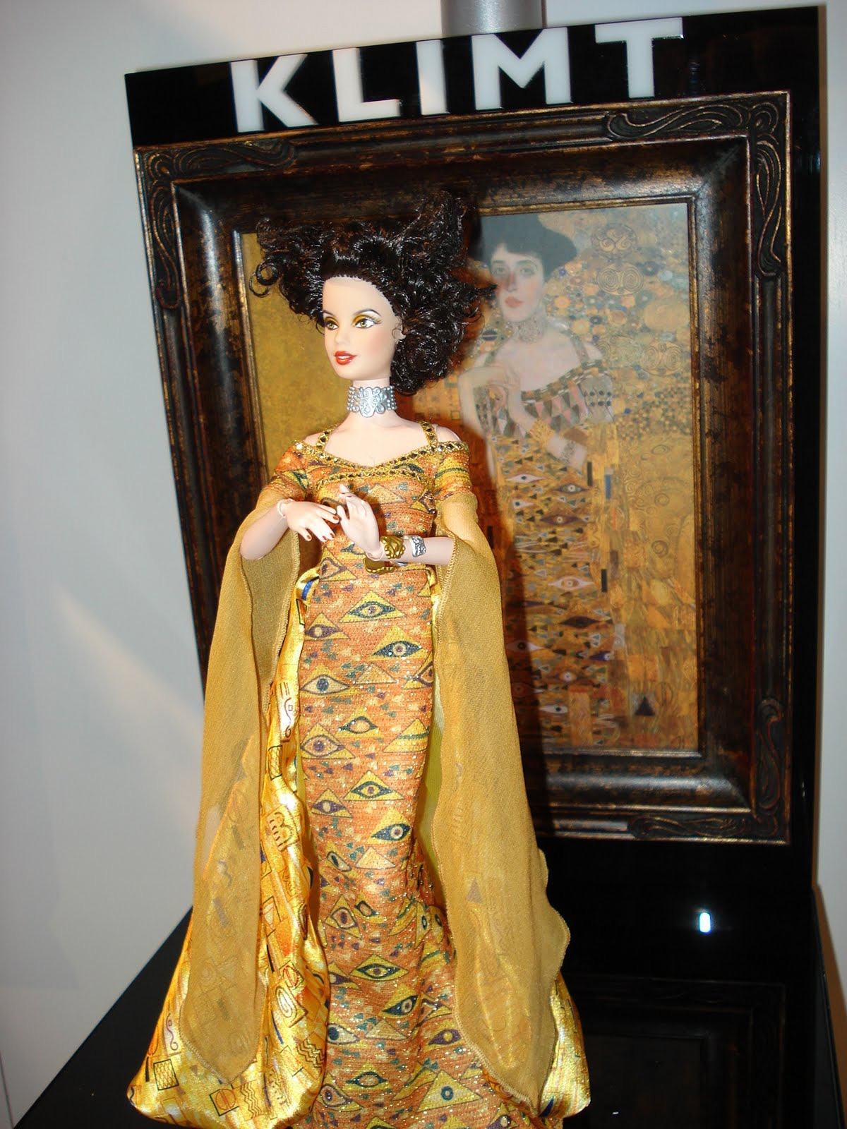 Fine Art Klimt Barbie