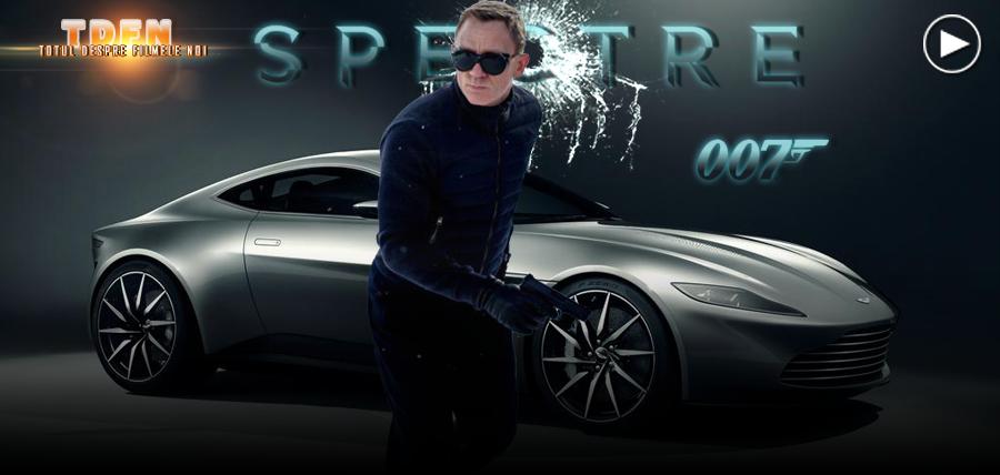 Vezi primul clip din Bond 24: Spectre