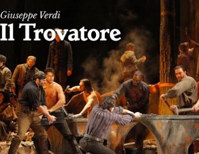Il Trovatore de Verdi, opera en las calles