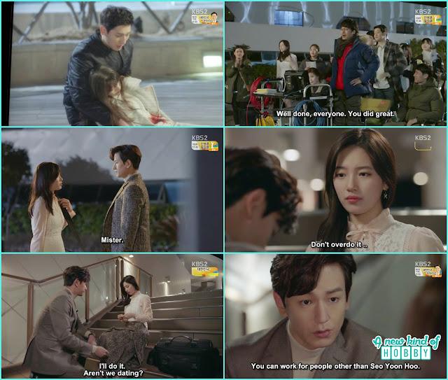 Ji taek put band aid on noh eul foot - controllably Fond - Episode 12 Review - Korean Drama 2016