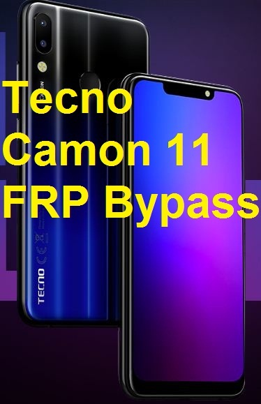 Tecno Camon 11, Hard Reset, PIN remove, FRP Bypass - zamdtek