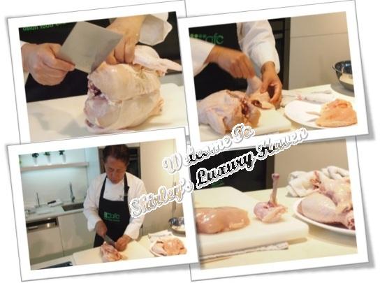 afc studio martin yan deboning chicken