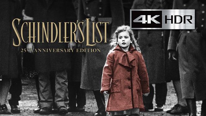 La lista de Schindler (1993) 4K UHD [HDR] Latino-Ingles