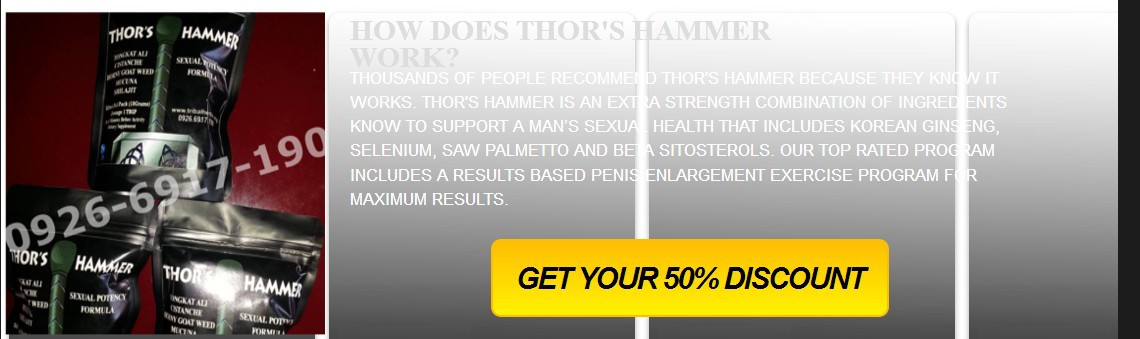 hammer of thor philippines product info hammer of thor