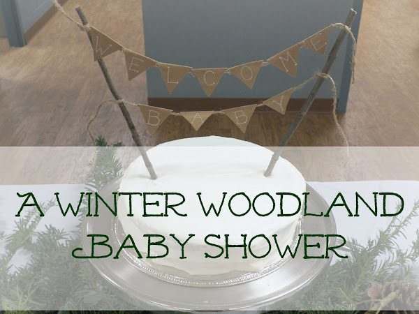 A Winter Woodland Baby Shower