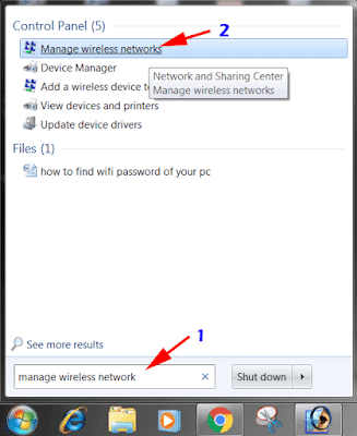 Find Saved WiFi Password on PC 1