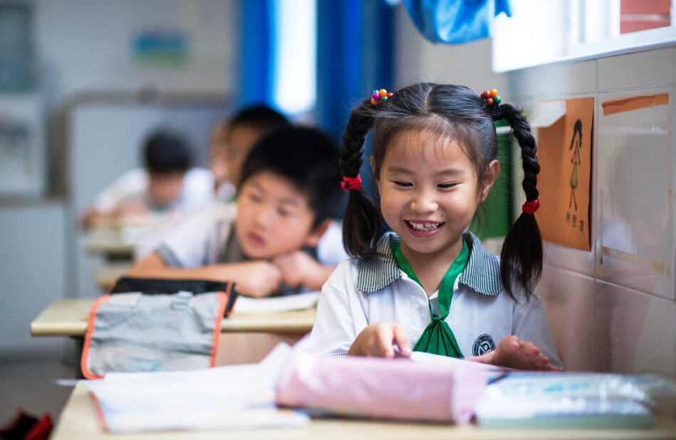 55 Stunning Photographs Of Girls Going To School In Different Countries - China