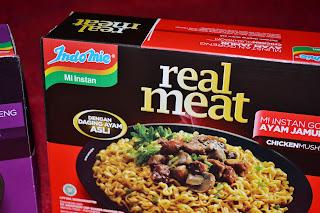 Indomie Real Meat, Dagingnya Asli!!!