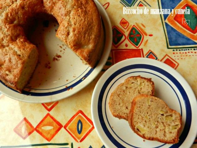 Bizcocho de manzana y canela las recetillas de romo for Bizcocho de manzana y canela