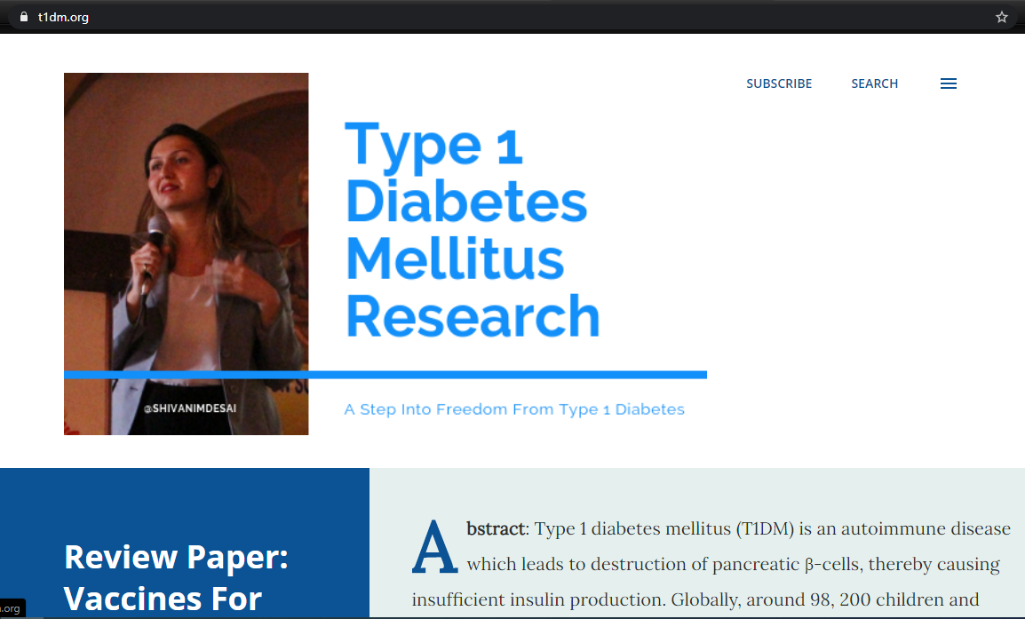 Type 1 Diabetes Research
