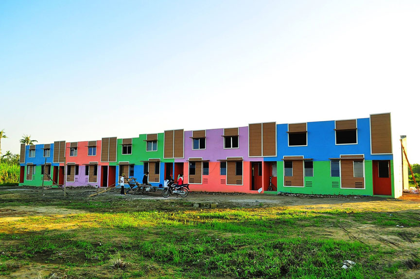 Monsanto-Gawad Kalinga Village rises in Sara, Iloilo | Iloilo News on evergreen homes, habitat for humanity homes, mother teresa homes, cebu homes, philippines homes, manila homes,