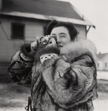 Photographer unknown/Courtesy of International Center of Photography   Ruth Gruber, Alaska, 1941-43