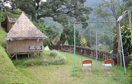Taman riung gunung tempat wisata alam di bogor