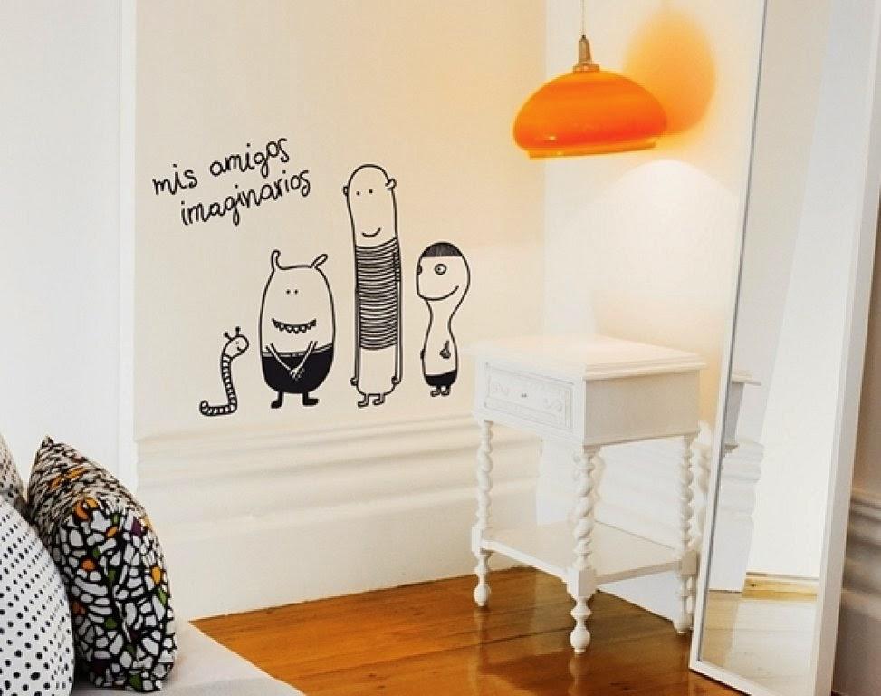 10 ideas para la habitaci n de los ni os infantil decora for Pegatinas dormitorio
