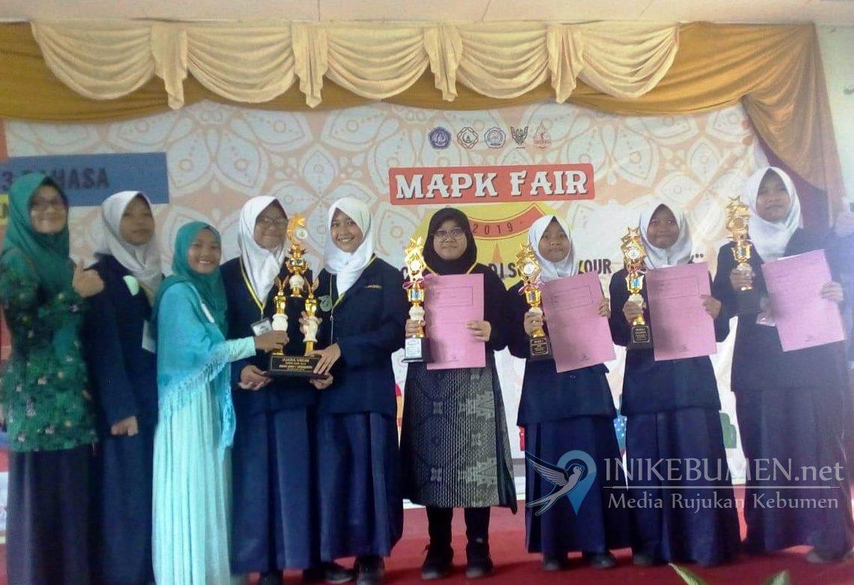 MTs Negeri 1 Kebumen Juara Umum MAPK Fair 2019 di Surakarta