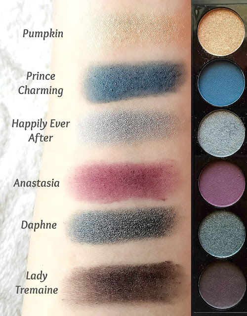 Review and Swatches Sleek i-Divine Enchanted Forest Eyeshadow Palette