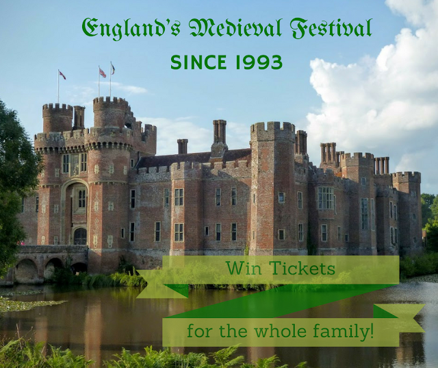 win family tickets to england's medieval festival