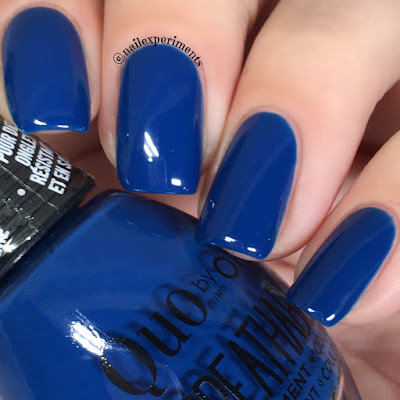 quo by orly breathable good karma swatch