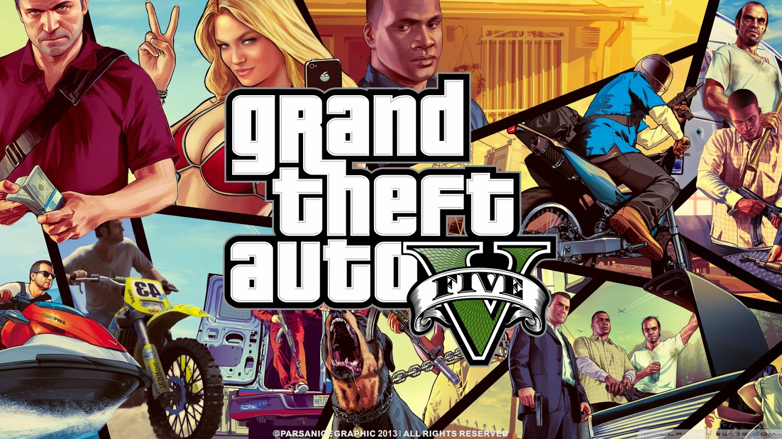 Cheats and Walkthrough for GTA V