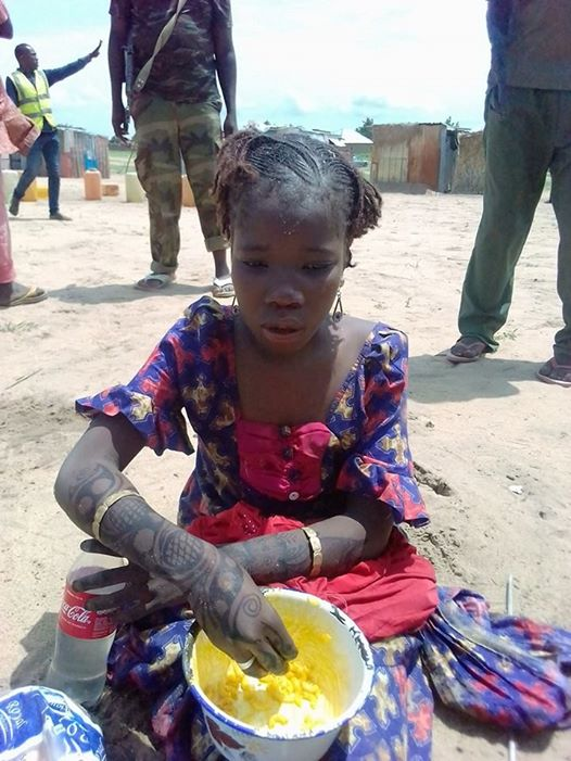 Very young female suicide bomber apprehended in Borno
