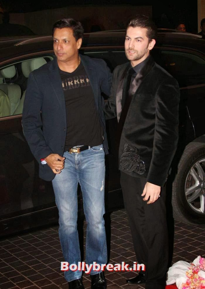 Madhur Bhandarkar, Neil Nitin Mukesh, Siddharth Kannan & Neha Agarwal Wedding Reception Pics